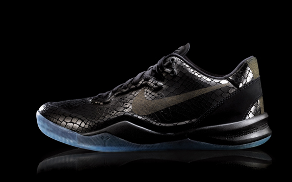 detailed look a61d9 5b585 low-cost Release Reminder Nike Kobe VIII 8 EXT Black Year of the Snake
