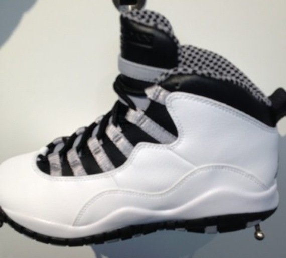 Steel Air Jordan X 2013 Retro