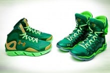 Under Armour Spine Bionic & Micro G Charge BB 'St. Patrick's Day' Pack