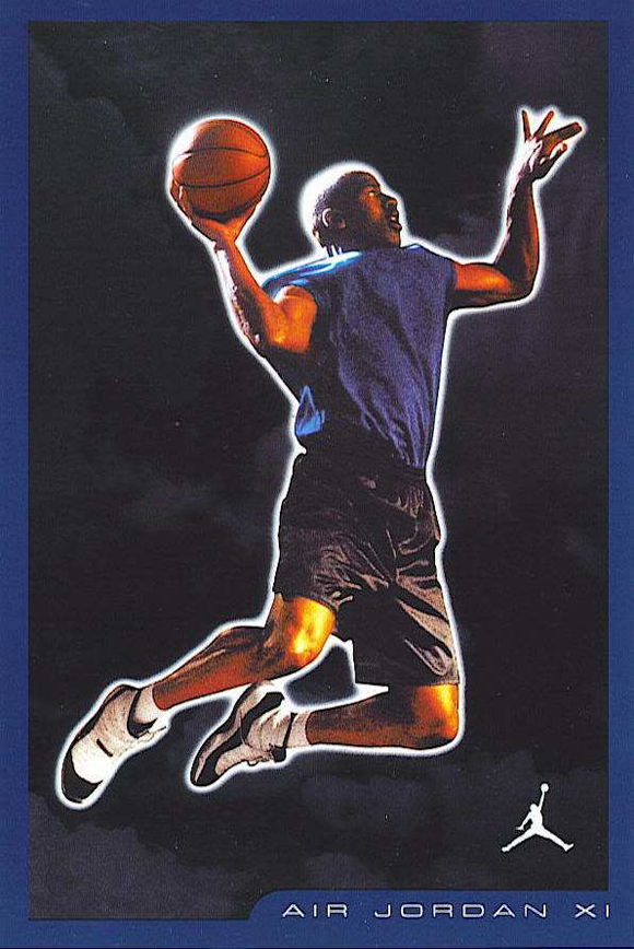 2001 Air Jordan 11 Retro Card