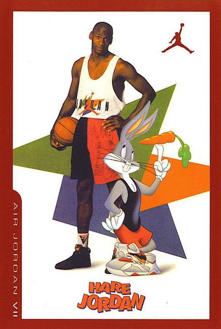 2002 Air Jordan 7 Retro Card