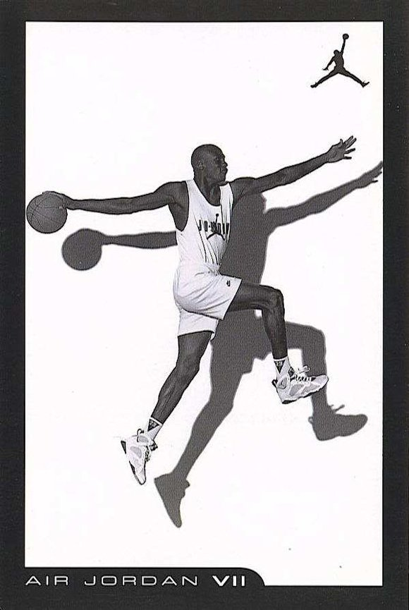 2006 Air Jordan 7 Retro Card