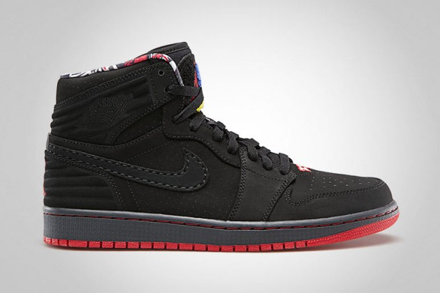 Air Jordan 1 Retro 93 Black True Red Anthracite