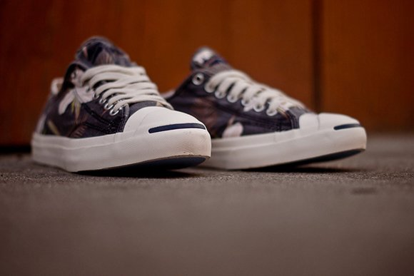 Converse Jack Purcell Navy Floral Now Available 2