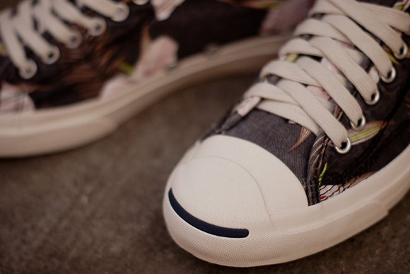 Converse Jack Purcell Navy Floral Now Available 3