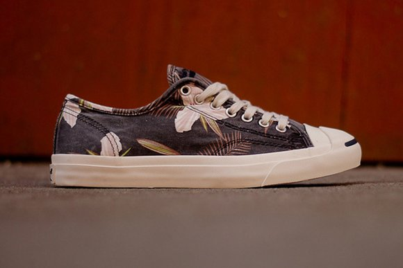 Converse Jack Purcell Navy Floral Now Available
