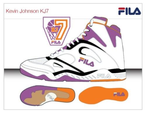 FILA Brings Back the KJ7 Kevin Johnson Phoenix Suns