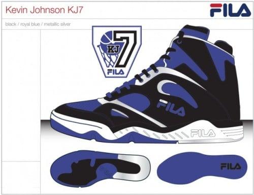 FILA Brings Back the KJ7 Kevin Johnson Sacramento Kings