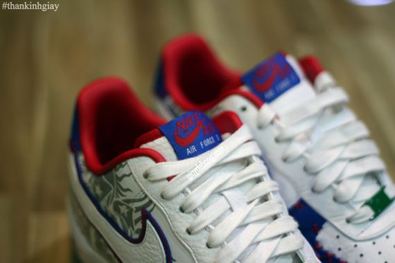 Nike Air Force 1 Puerto Rico New Images