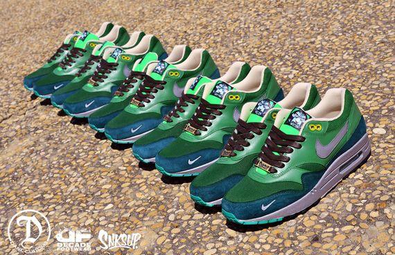 Nike Air Max 1 Dr Doom Customs by Jwdanklefs 2