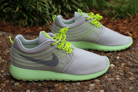 Nike Roshe Run Dynamic Flywire Grey Cyber