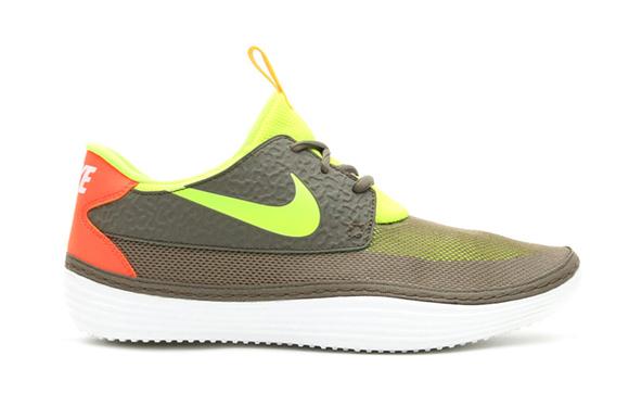 Nike Solarsoft Moccasin Tarp Green Volt