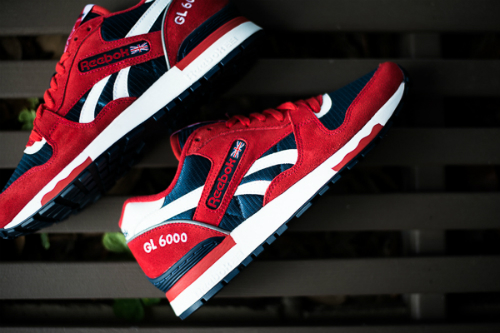 Reebok GL 6000 Red Attack Navy 2