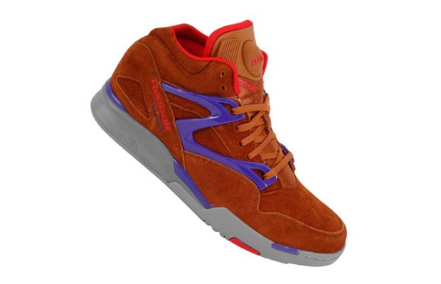 Reebok Pump Omni Lite Brown Purple 3
