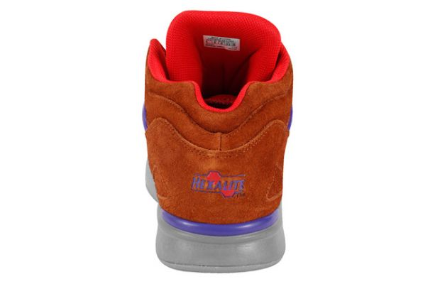 Reebok Pump Omni Lite Brown Purple 4