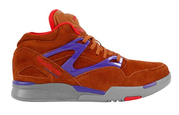 Reebok Pump Omni Lite Brown Purple