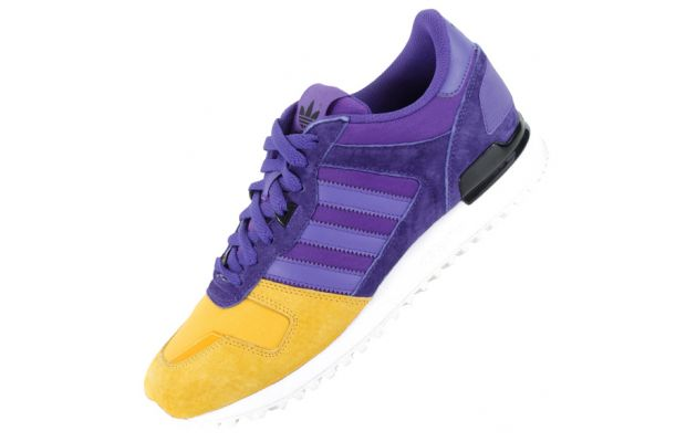 adidas Originals ZX 700 Blaze Purple Yellow Ray 2