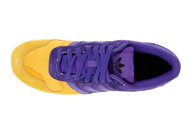 adidas Originals ZX 700 Blaze Purple Yellow Ray 3