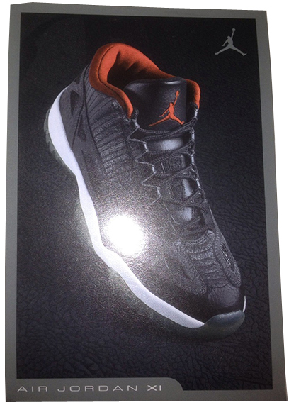 Air Jordan 11 IE Low Black Retro Card 2007