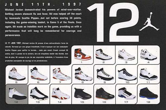 Air Jordan 12 2003 Retro Card