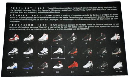 all retro air jordans