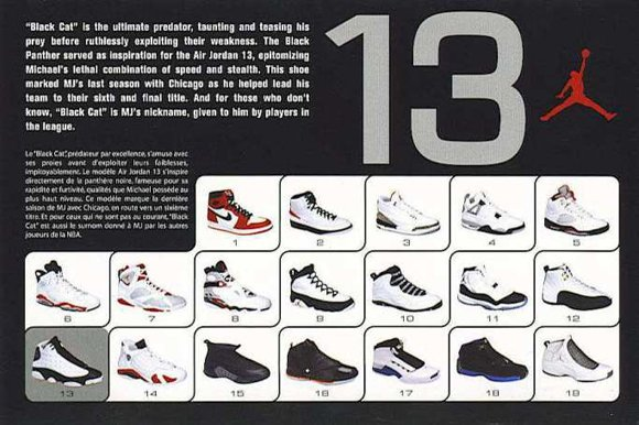 Air Jordan 13 Retro Card