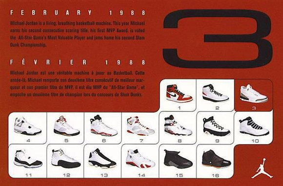 Air Jordan 3 Retro Card Back