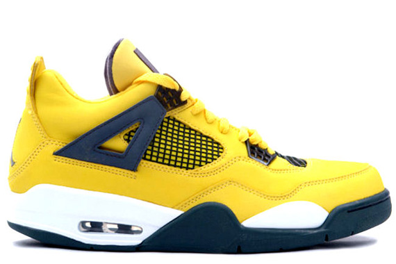 Release Date Air Jordan Retro 4 Lightning