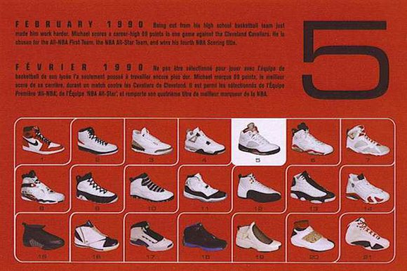 Air Jordan 5 Retro Card Back