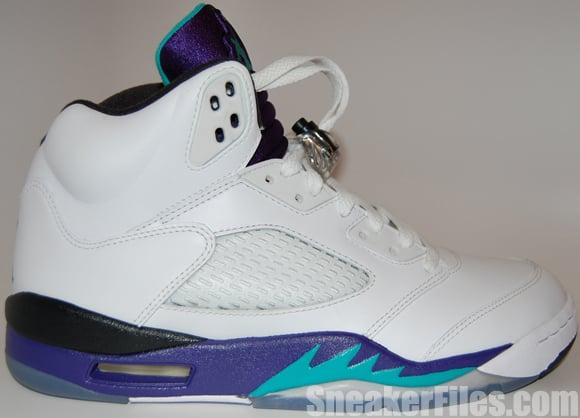 buy online fe8b2 bc134 Air Jordan 5 (V) Grape 2013 - Epic Look | SneakerFiles