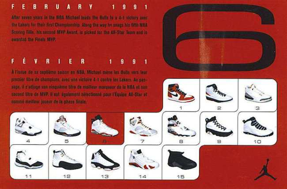 Air Jordan 6 Retro Card Back