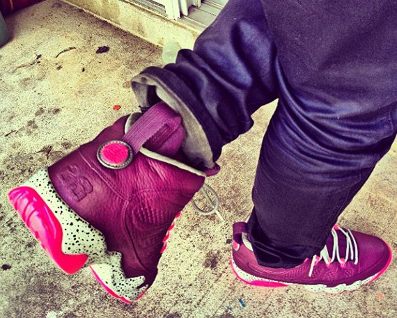 Air Jordan IX Crown Jewel Customs by noldo