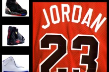 "Take Your Pick: Michael Jordan's Many Retirement Shoes (""Playoff"" 8′s, ""Last Shot"" 14′s or ""Sport Royal"" 18′s)"