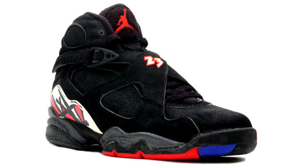 Michael Jordans First Retirement Shoes Playoff 8 VII