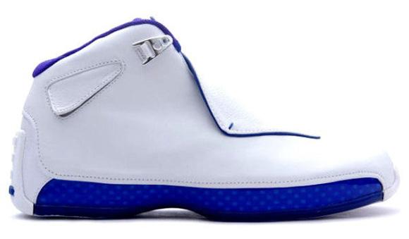 Air Jordan Retirement Shoe Sport Royal 18 XVIII