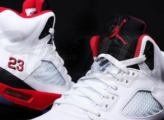 Air Jordan V Fire Red 2013 Retro