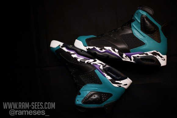 Air Jordan VI Carnivore Customs by Ramses