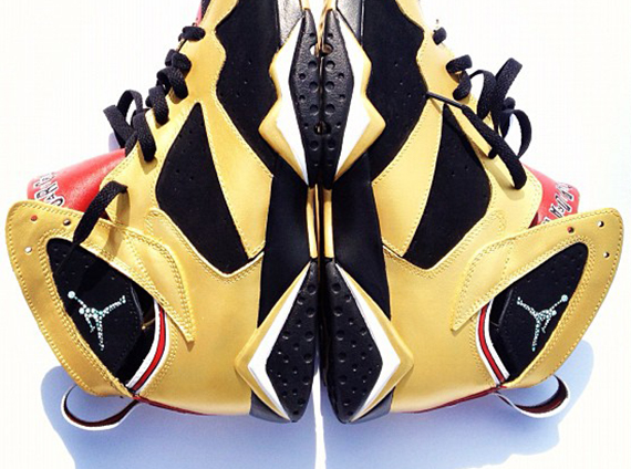 Air Jordan VII  92 Champ  Customs by El Cappy  8151ad2eb1f