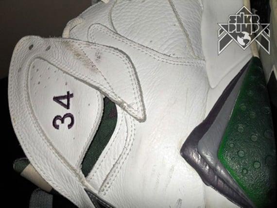 Air Jordan VII Ray Allen Milwaukee Bucks Home PE