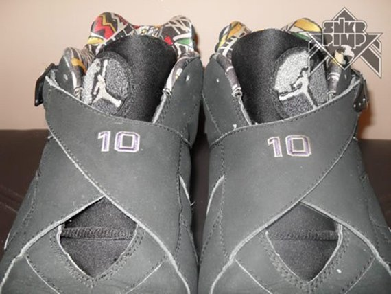 Air Jordan VIII Low Mike Bibby Sacramento Kings Away PE