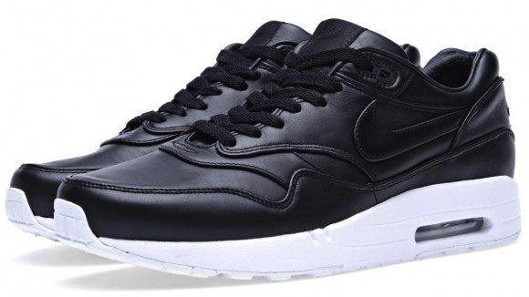 newest 93549 04ee4 Black Leather Nike Air Maxim 1 SP