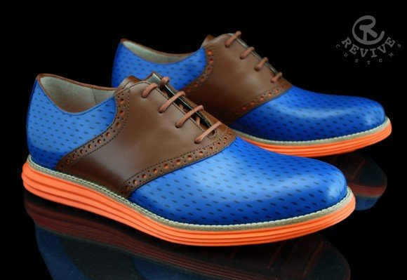 Cole Haan Lunargrand Knicks for Spike Lee by Revive Customs