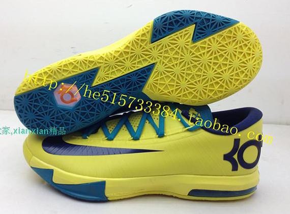 First Look Nike KD VI