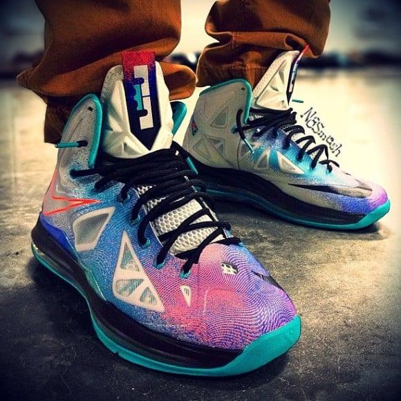Image Update Pure Platinum Nike LeBron X