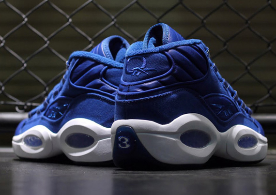Image Update Reebok Question Mid Blue Canvas