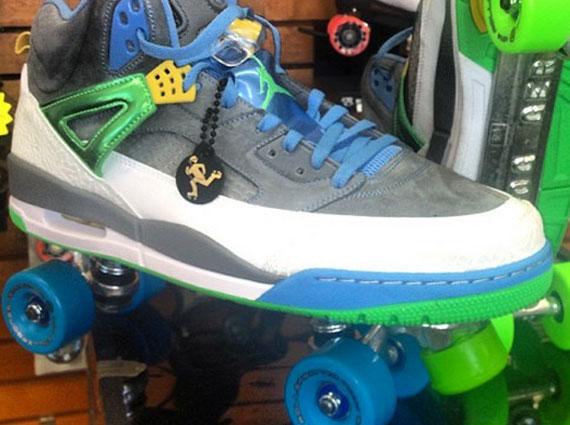 Javale McGees Jordan Spiz'ike Rollerskates