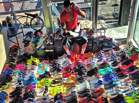 daf322a822e Joe Haden s Sneaker Collection