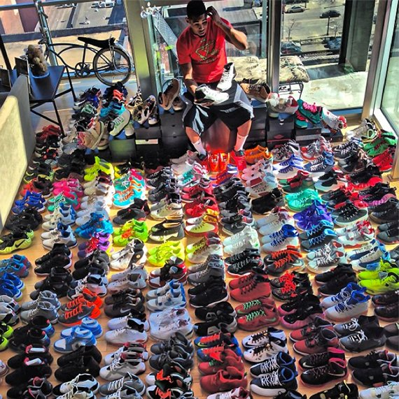 Joe Hadens Sneaker Collection