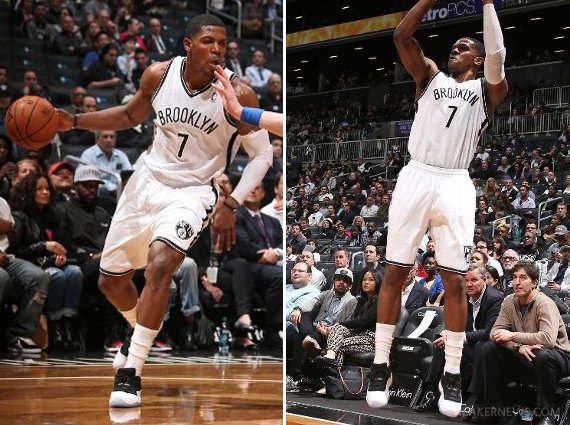 Joe Johnson Hoops in the Air Jordan XI Low White Black