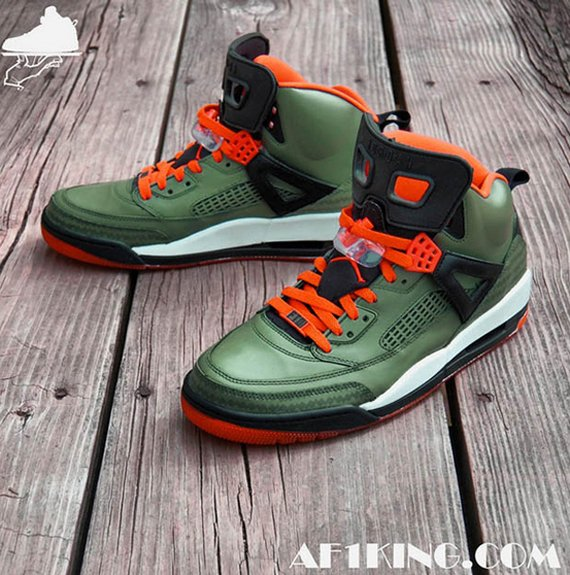 Jordan Spiz'ike UNDFTD Customs by GourmetKickz
